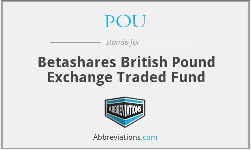 POU - Betashares British Pound Exchange Traded Fund