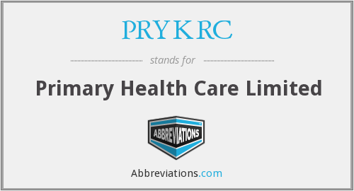 What does PRYKRC stand for?