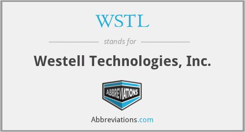 WSTL - Westell Technologies, Inc.