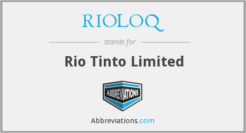 What does RIOLOQ stand for?