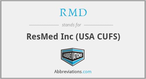 RMD - ResMed Inc (USA CUFS)