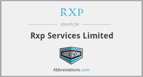 RXP - Rxp Services Limited