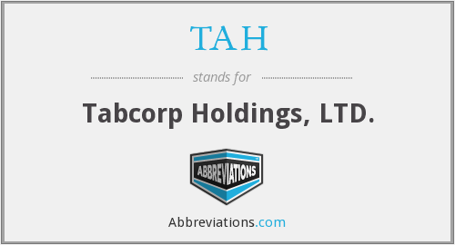 TAH - Tabcorp Holdings, LTD.