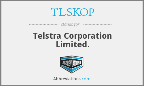 What does TLSKOP stand for?