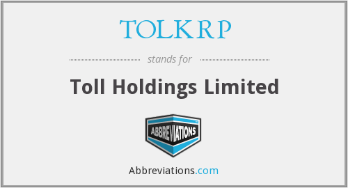 What does TOLKRP stand for?