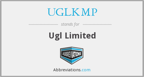 What does UGLKMP stand for?