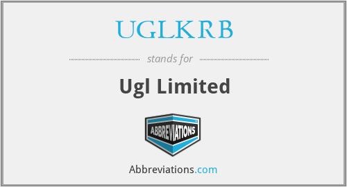 UGLKRB - Ugl Limited