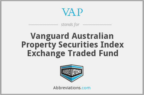 VAP - Vanguard Australian Property Securities Index Etf