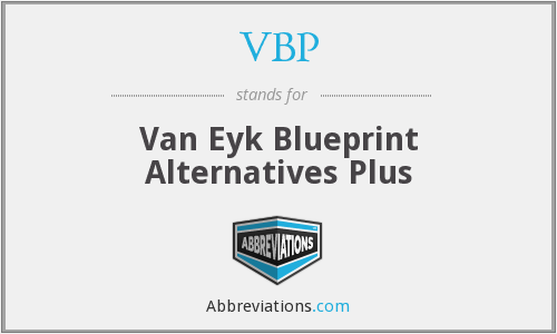 What is the abbreviation for van eyk blueprint alternatives plus share an image of van eyk blueprint alternatives plus malvernweather Choice Image