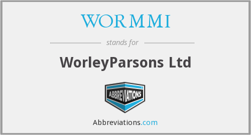 WORMMI - WorleyParsons Ltd
