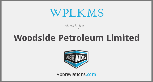 What does WPLKMS stand for?
