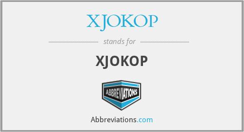 XJOKOP - XJOKOP