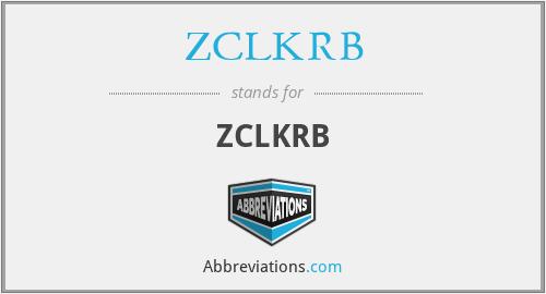 ZCLKRB - ZCLKRB