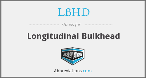 What does LBHD stand for?