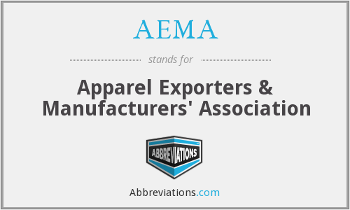 AEMA - Apparel Exporters & Manufacturers' Association