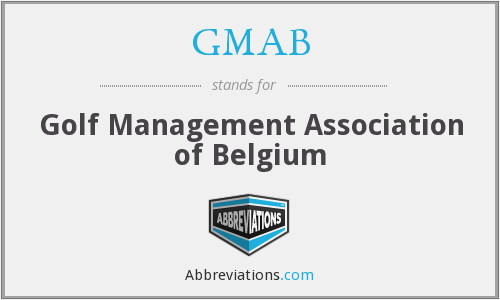GMAB - Golf Management Association of Belgium