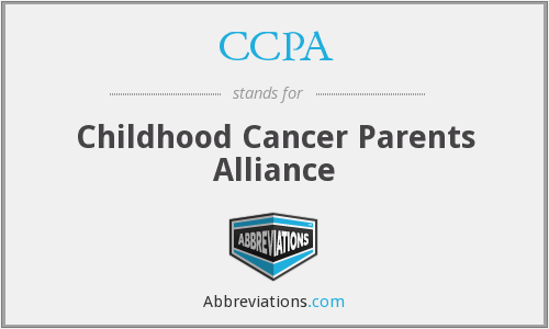 CCPA - Childhood Cancer Parents Alliance