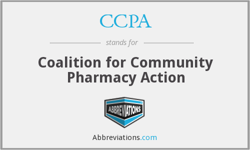 CCPA - Coalition for Community Pharmacy Action