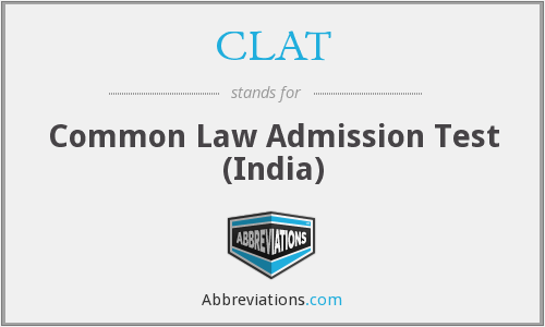 CLAT - Common Law Admission Test (India)
