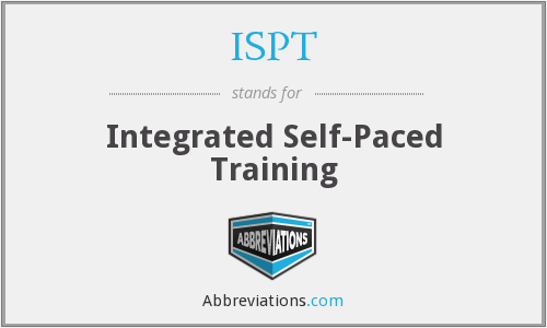 ISPT - Integrated Self-Paced Training