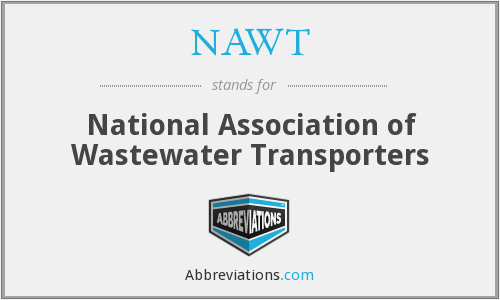 NAWT - National Association of Wastewater Transporters