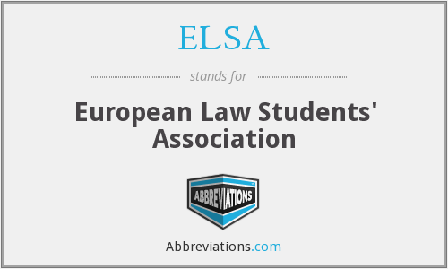 ELSA - European Law Students' Association