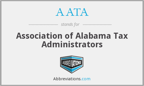 AATA - Association of Alabama Tax Administrators