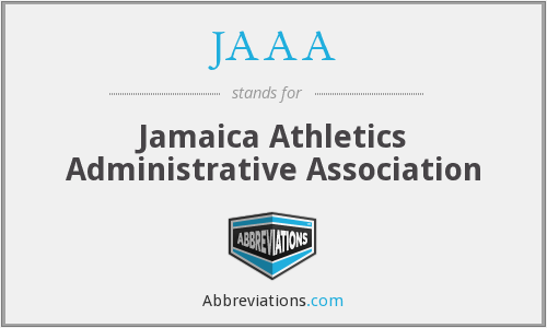 JAAA - Jamaica Athletics Administrative Association