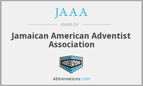 JAAA - Jamaican American Adventist Association