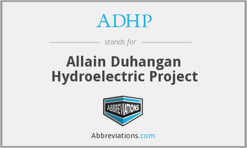 ADHP - Allain Duhangan Hydroelectric Project