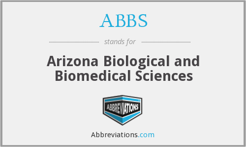 ABBS - Arizona Biological and Biomedical Sciences
