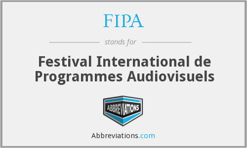 FIPA - Festival International de Programmes Audiovisuels