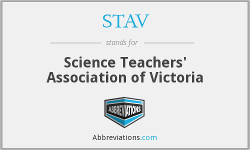 STAV - Science Teachers' Association of Victoria