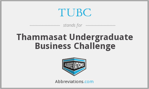 What does TUBC stand for?