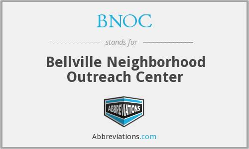 BNOC - Bellville Neighborhood Outreach Center