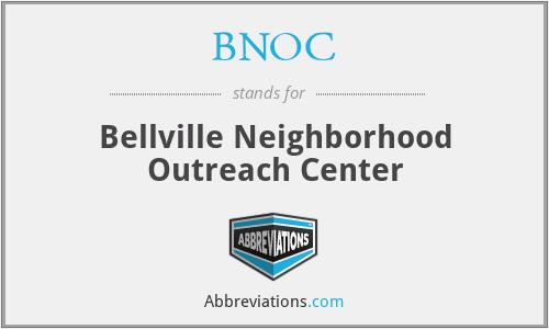 BNOC - Bellville Neighborhood Outreach Center