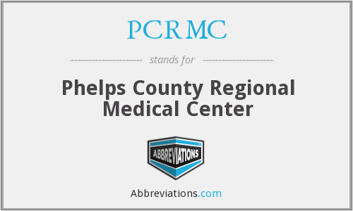 What does PCRMC stand for?