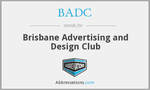 BADC - Brisbane Advertising and Design Club