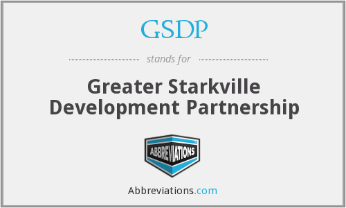GSDP - Greater Starkville Development Partnership