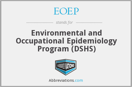 EOEP - Environmental and Occupational Epidemiology Program (DSHS)