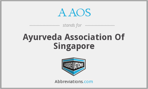 AAOS - Ayurveda Association Of Singapore
