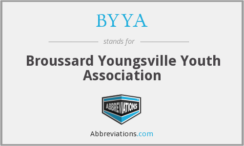 BYYA - Broussard Youngsville Youth Association