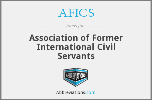 What does AFICS stand for?