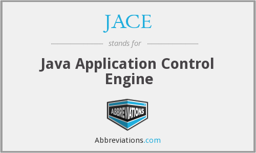 JACE - Java Application Control Engine