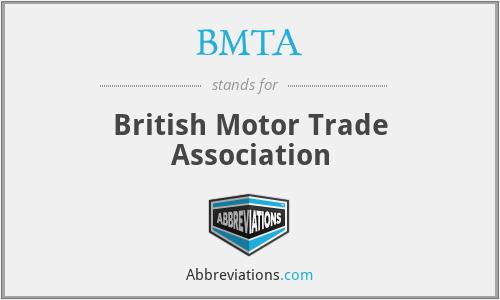 BMTA - British Motor Trade Association
