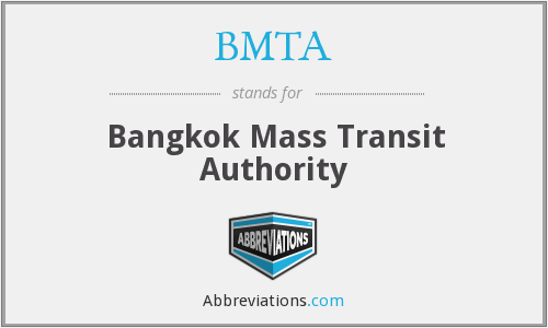 BMTA - Bangkok Mass Transit Authority