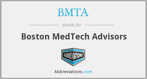 BMTA - Boston MedTech Advisors