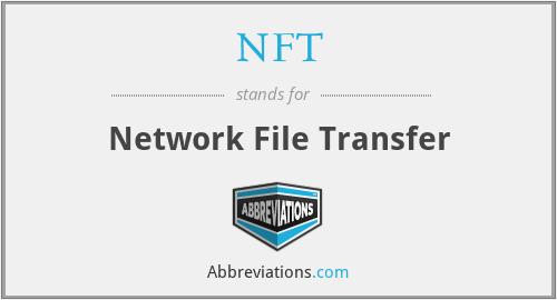 NFT - Network File Transfer