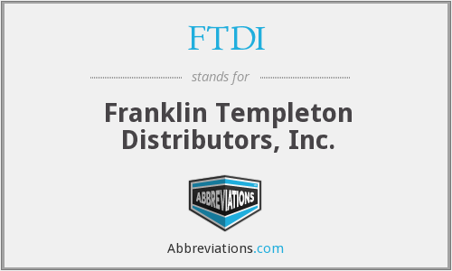 FTDI - Franklin Templeton Distributors, Inc.