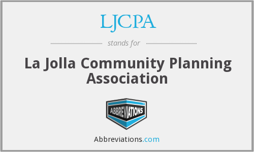 LJCPA - La Jolla Community Planning Association